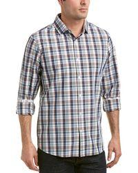 Mizzen+Main - Mizzen+main Russell Trim Fit Woven Shirt - Lyst