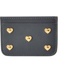 Sophie Hulme - Hearts Rosebery Leather Cardholder - Lyst