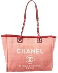 cab91c9bd92d Lyst - Chanel Deauville - Women s Chanel Deauville Totes