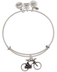 ALEX AND ANI - Tokens Bike Expandable Bracelet - Lyst