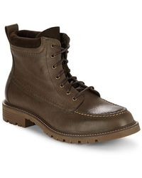 Cole Haan - Suede & Leather Lace-up Boot - Lyst