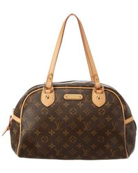 Louis Vuitton - Monogram Canvas Montorgueil Pm - Lyst