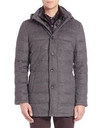 Saks Fifth Avenue - Wool & Cashmere Quilted Jacket - Lyst
