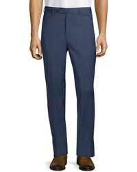 Brooks Brothers - Wool-blend Flat Front Pant - Lyst