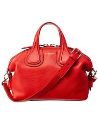 e1a184176f ... Bags - Reebonz AU  on sale 1e65d 063d7 Givenchy - Micro Nightingale  Leather Satchel - Lyst ...