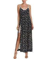 Cinq À Sept - Jocelyn Silk Maxi Dress - Lyst
