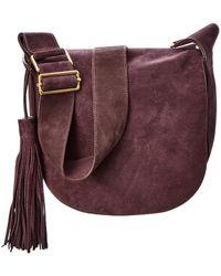 A.L.C. - Henry Suede Saddle Bag - Lyst