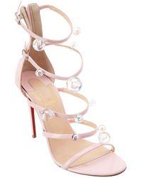 Christian Louboutin - Atonana 100 Patent Sandal - Lyst