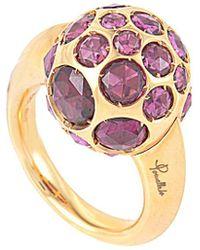 Pomellato - 18k Rose Gold Rhodolite Ring - Lyst