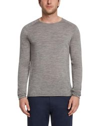 Daniel Hechter - Raw Edge Wool Jumper - Lyst