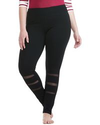 Electric Yoga - Plus Mesh Legging - Lyst