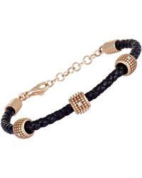Damiani - 18k Rose Gold Diamond Bracelet - Lyst
