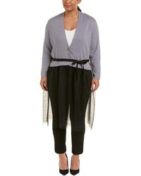 NIC+ZOE - Plus Tulle Time Cardy - Lyst