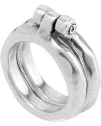 Uno De 50 - Unode50 Beunic Silver Ring - Lyst