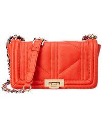 Sam Edelman - Mira Leather Shoulder Bag - Lyst