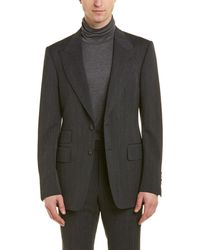 Tom Ford - Shelton 2pc Wool Suit With Flat Pant - Lyst