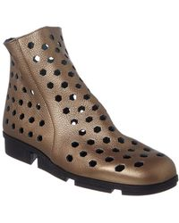 Arche - Kyoute Leather Bootie - Lyst