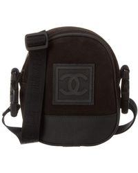 Chanel - Black Sportline Shoulder Bag - Lyst
