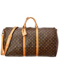 a4bab8c26153 Lyst - Louis Vuitton Keepall 45 Bandouliere Travel Bag - Vintage in ...