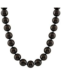 Splendid - Silver 16-17mm Shell Pearl Necklace - Lyst