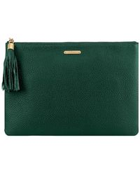 Gigi New York - Leather Uber Clutch - Lyst