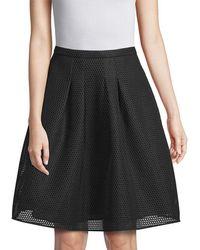 Burberry - Mesh A-line Skirt - Lyst