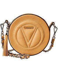 Valentino By Mario Valentino - Yuki Sauvage Leather Crossbody - Lyst