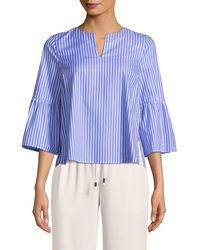 MDS Stripes - Talitha Stripe Butterfly Top - Lyst