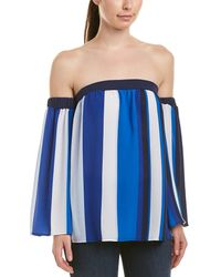 61f0487138e Lyst - Cece by Cynthia Steffe Off-the-shoulder Balloon Sleeve Top in ...