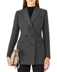 Reiss - Cameo Wool-blend Jacket - Lyst