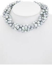 Carolee - Cosmic Reflections Torsade Necklace - Lyst