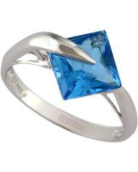 Effy - Fine Jewelry 14k 2.77 Ct. Tw. Blue Topaz Ring - Lyst