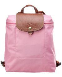 d7d66689c3f93 Longchamp - Le Pliage Nylon Backpack - Lyst