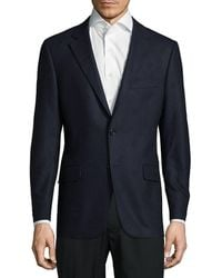 Hickey Freeman - Graphic Wool Blazer - Lyst