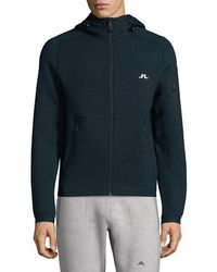 J.Lindeberg - Active Athletic Hooded Jacket - Lyst