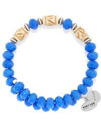 ALEX AND ANI - Deep Sea Navy Wrap Bracelet - Lyst