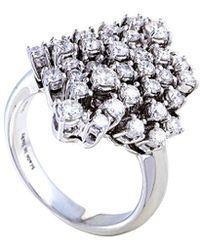 Damiani - 18k 1.48 Ct. Tw. Diamond Ring - Lyst