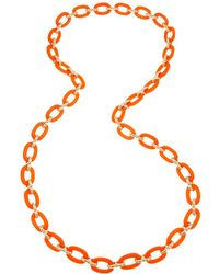 Fornash - Plated Link 33in Endless Necklace - Lyst
