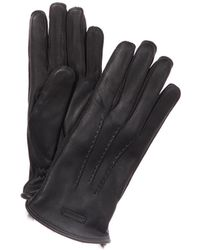 Burberry - Fur Lined Deerskin Gloves - Lyst
