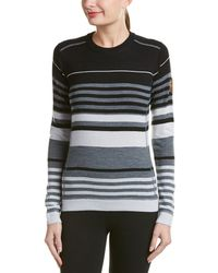 Obermeyer - Fiona Stripe Knit Wool-blend Jumper - Lyst