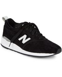 New Balance - Suede Low-top Sneakers - Lyst