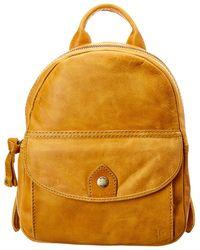 Frye - Melissa Mini Leather Backpack - Lyst