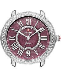 Michele - Women's Serein Diamond Watch - Lyst