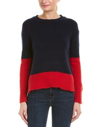 Sundry - D'amour Wool-blend Sweater - Lyst