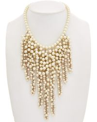 Carolee - Icing On The Cake Drama Necklace - Lyst