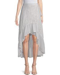 Young Fabulous & Broke - High-low Ruffle Skirt - Lyst