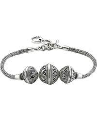 Samuel B. - Silver Balinese Bracelet - Lyst