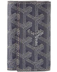 Goyard - Grey Ine Canvas Key Wallet - Lyst
