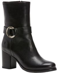 Frye - Addie Harness Mid Boot - Lyst