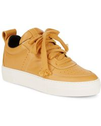 Helmut Lang - Low Top Leather Sneaker - Lyst